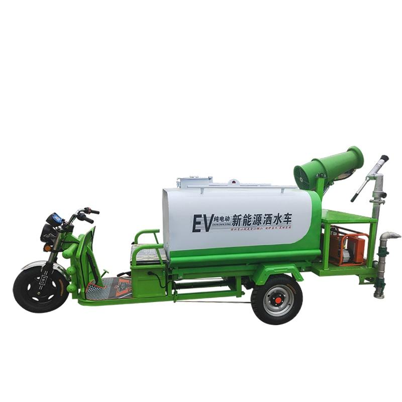 电动三轮1.2方消毒喷雾车