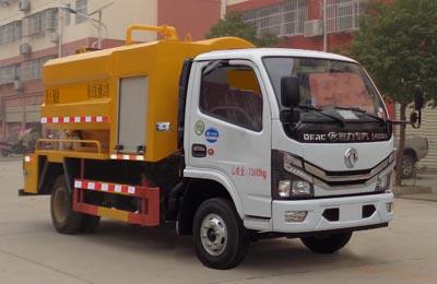 程力威牌CLW5070GQW6型清洗吸污车