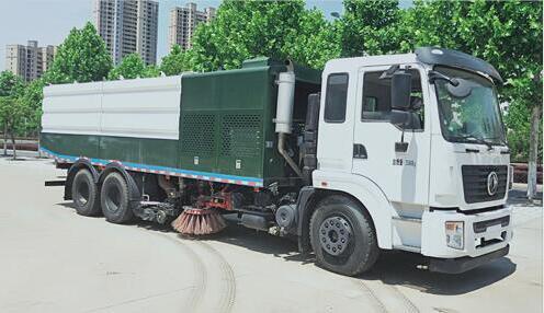 程力威牌CLW5258TXSE6型洗扫车