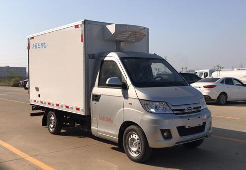 程力威牌CLW5020XLCRL6型冷藏车
