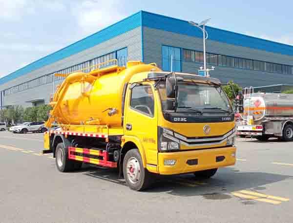 程力牌CL5123GQW6HQ型清洗吸污车
