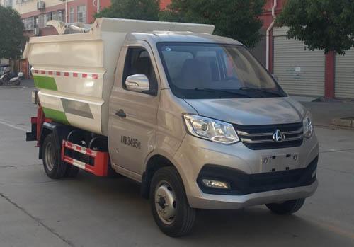 程力威牌CLW5031ZZZ6RL型自装卸式垃圾车