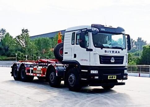 程力威牌CLW5310ZXXZ6型车厢可卸式垃圾车