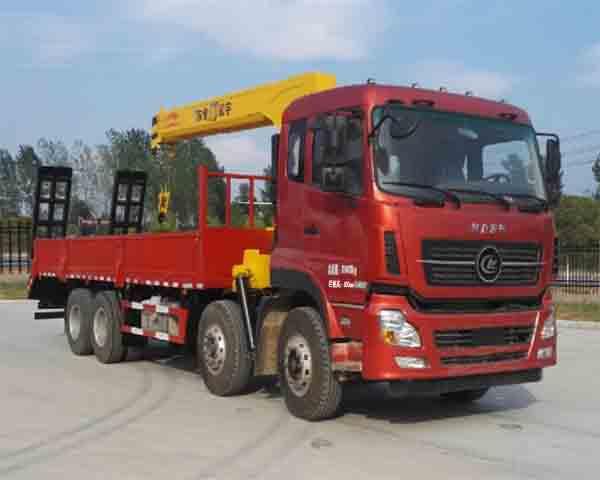 程力牌CL5312JSQA5型随车起重运输车